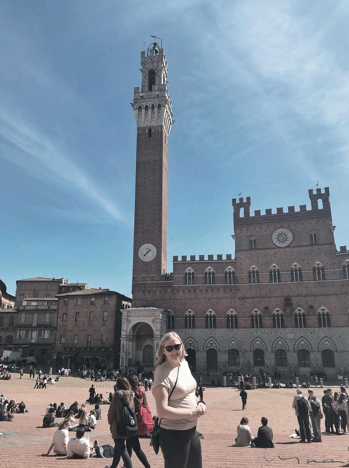 Minna Siena Piazza del Campo