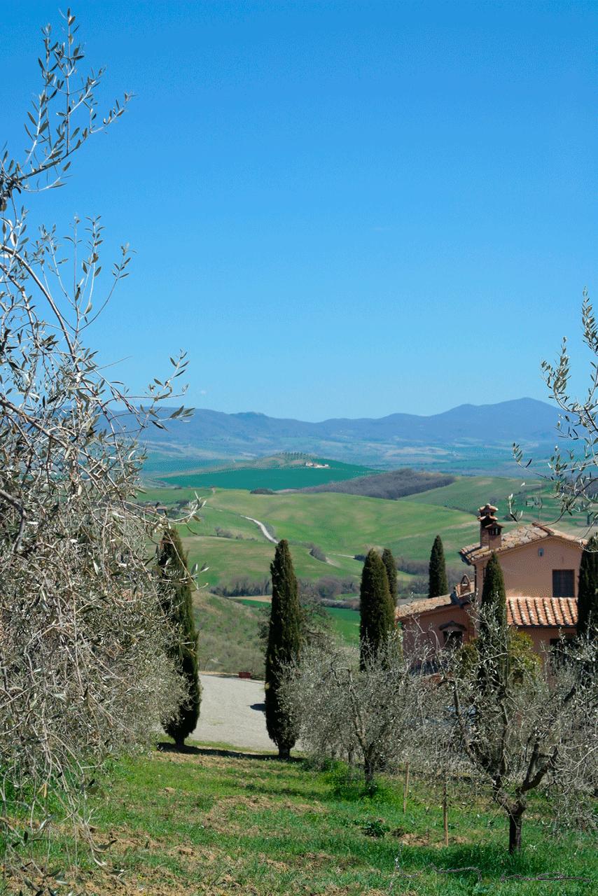 Toscana maisema
